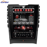 10.4 Vertical Screen Tesla Style Android Car DVD GPS Player for Ford Edge 2015 2016 1024*600 Quad Core with Radio Navigation