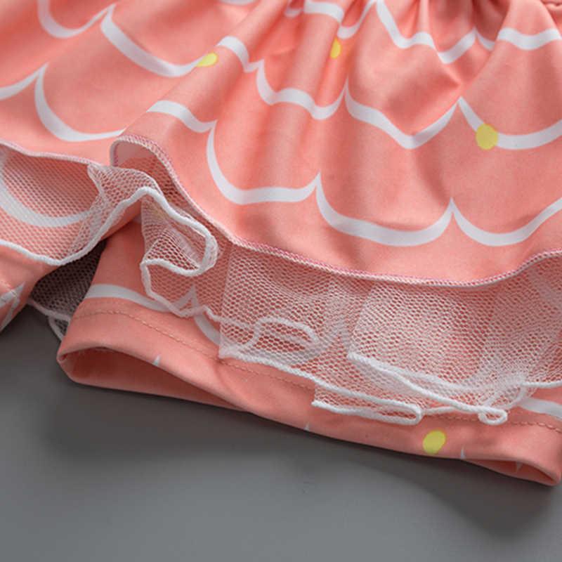 Купальный костюм для девочек; детский купальный костюм из трех предметов с длинными рукавами и рисунком кролика; купальный костюм для девочек; пляжная одежда