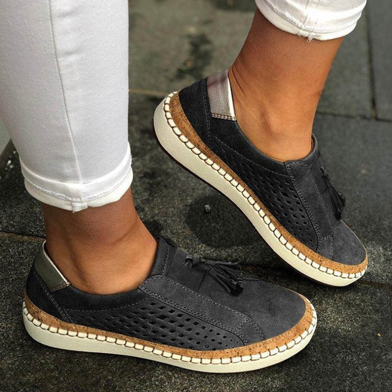 2019 New 1 Pair Women Slide Hollow-Out Shoes Round Toe Casual Breathable Sneakers TY66 عکس های شاخ دخترونه