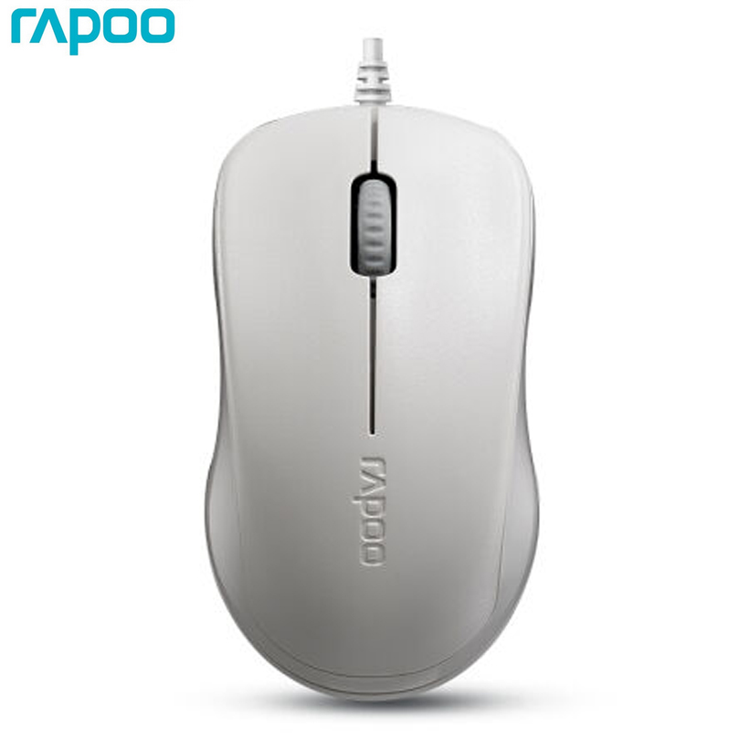 rapoo 1680 optical usb wired mouse ergonomic cable gaming mice 1000dpi for apple mac os pc. Black Bedroom Furniture Sets. Home Design Ideas