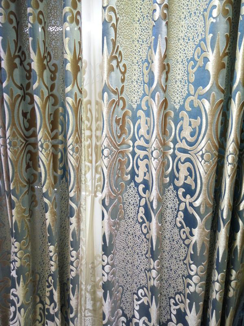 Curtain Fabric Wholesale Us 54 71 52 Off 280 Cm Wide Curtain Velvet Lace Fabric Wholesale High Quality Curtain Fabrics For Clothing Fabric Only Curtains In Curtains From