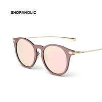 Imitate Vintage Pink Sunglasses Women Luxury Ladies Sunglasses Brand Design Sun Glasses Female Oculos De Sol Sun Glass