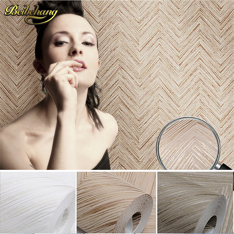 beibehang papel de parede. 3D Embossed Texture Wallpaer Modern Geometry Wall Paper Solid Color Brown Off White Wallpaper Roll snow background wall papel de parede restaurant clubs ktv bar wall paper roll new design texture special style house decoration