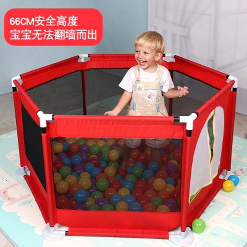 Baby Hexagon Game Fence Home Infant Baby Playpens Safety Fence Toddler Crawling Folding Playinghouse Safety Protection Playpen