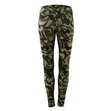9ede4c8b69 Army Camouflage Womens Yoga Skinny Pants Running Sports Leggings Fitness  Jogging Gym Tight Trousers Female Workout