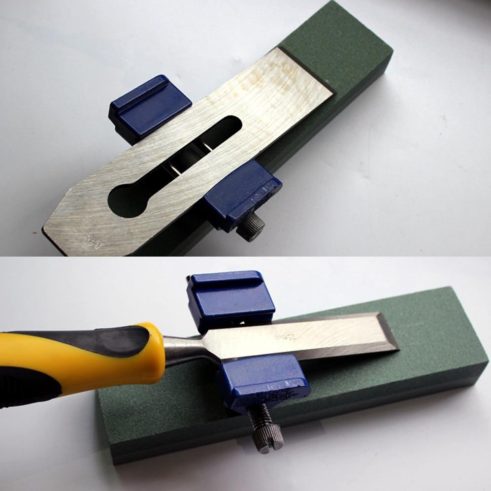 AIEOE Руководство точилка для заточки фиксированный угол держатель отточить Деревообрабатывающие инструменты для буровых Ножи резак заточк...