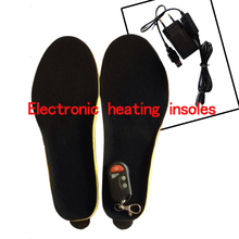 Rechargeable Winter Shoes Accessories Electric Foot Warmer Foam Insoles RED MEN'S 41-46 1800mAh