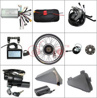 Free US Shipping Free Tax 48V 1000W 26 Rear Wheel Conversion Motor Wheel Kit + 20AH OEM Triangle Battery 5A Charger Charger LCD