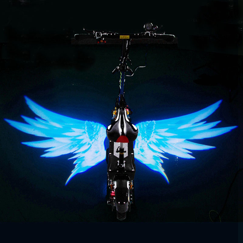 Electric Scooter Light Angel Wing Light E Scooter Decoration Spot Light With USB Port For Electric Skateboard Hoverboard Scooter