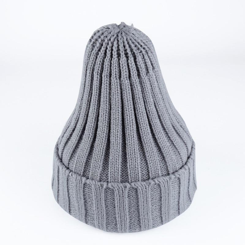 Women Men Cap Autumn Winter's Hat Knitte