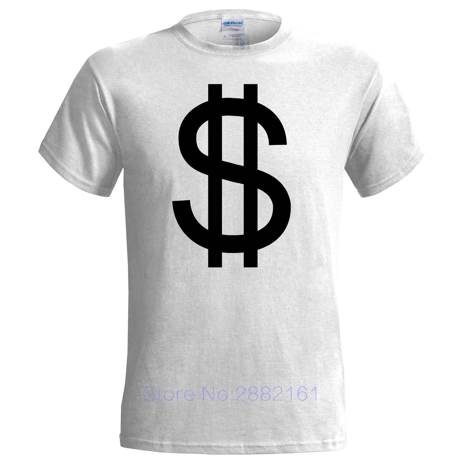 Design t shirt price - Large Dollar Sign Mens T Shirt Design Money America Us Canadian Cash Australian Short Sleeves New