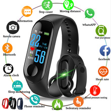 M3 Smart Band Bracelet Sports Bluetooth watch Blood Pressure Heart Rate Wristband for women men PK M4 M2