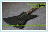 أعلى بيع الأسود esp إكسبلورر جيمس هيتفيلد JH2. توقيع الغيتار emg لاقط الغيتار من الصين مصنع النمط