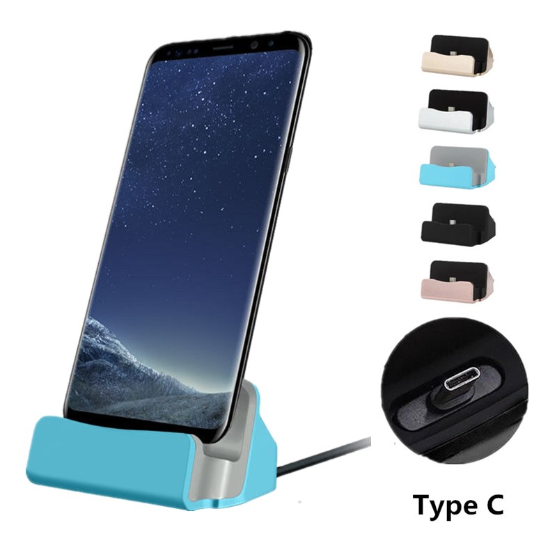 Type C <font><b>Charger</b></font> Dock Station for <font><b>nokia</b></font> 5.1 6.1 7.1 7 Plus x71 x7 x5 x6 8 sirocco 3.1 A C 9 PureView <font><b>8.1</b></font> USB C Docking <font><b>charger</b></font> image