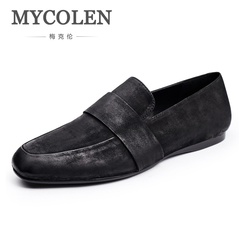 MYCOLEN 2018 New Arrival Men Shoes Comfortable And Breathable Mens Shoes Casual Flat Shoes Spring Autumn Men's Sneakers mycolen 2018 new spring autumn classic men casual shoes comfortable flat shoes fashion breathable wear resistant shoes