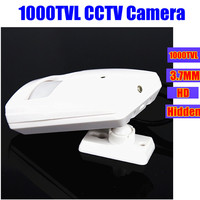 PIR Motion Detector Case Cctv Cameras 1000TVL 720P HD CCD SONY Pinhole Home Security Wide Angle