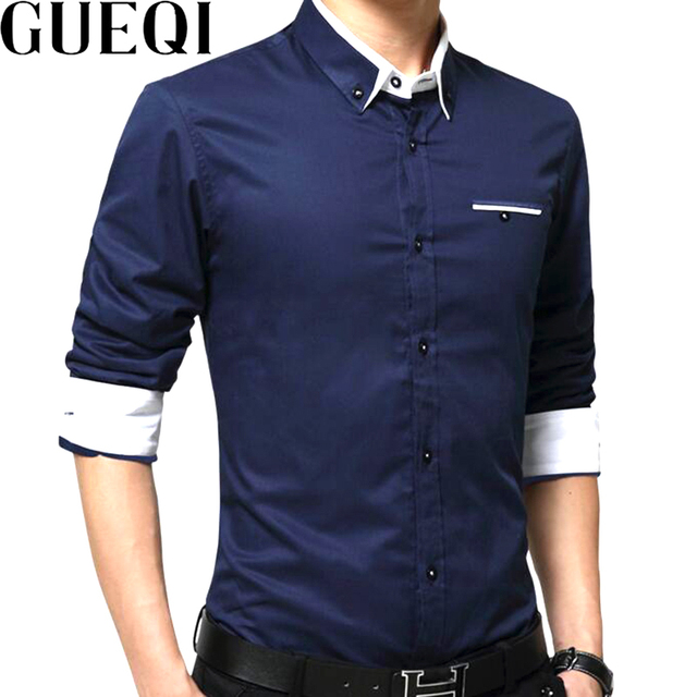 297281004e6 GUEQI-Hommes-Coton-Casual-Chemises-GRANDE-TAILLE-M -5XL-Patchwork-Conception-Manches-longues-Slim-Fit-Porter.jpg 640x640.jpg