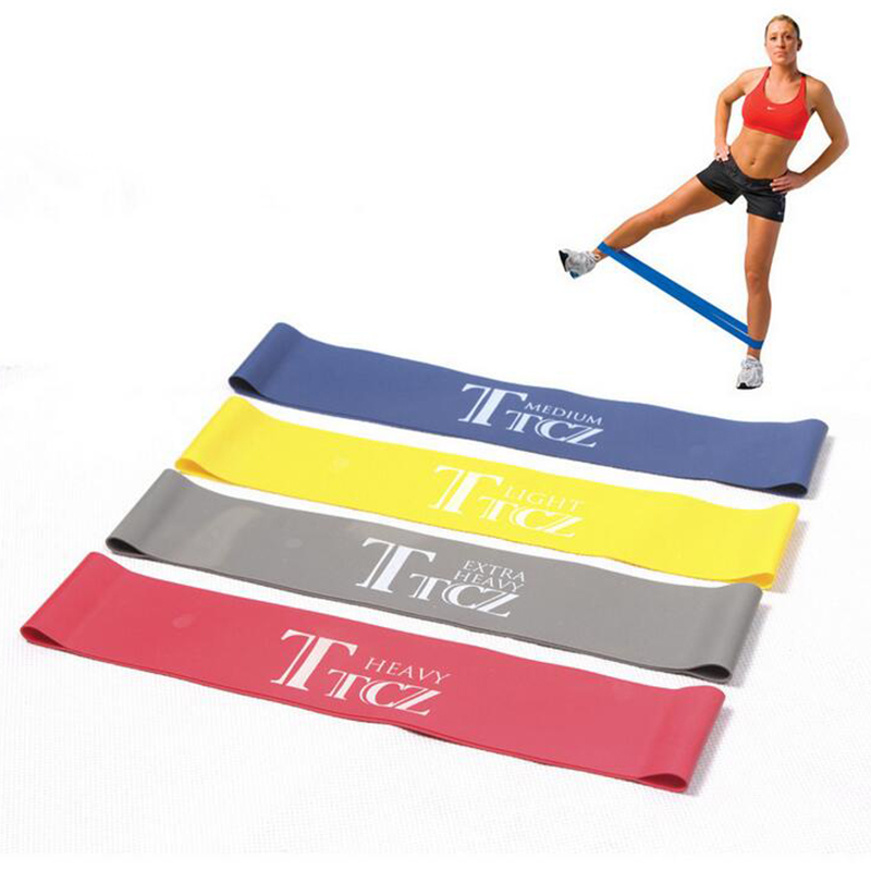 Elastic Band Tension Resistance Band Exercise Workout Ruber Loop Crossfit Strength Pilates Training Expander Fitness Equipment durable gym fitness rally elastic rope total body workout tool home exercise sports strength training equipment health care