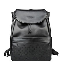 """New arrival of the brand new 2017 backpack Korean type males """"s bag high-end leather-based backpack style males's package deal freeshipping"""