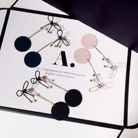 Guodong Gates Purchasing Bow Earrings Simple Hot Medallion On Korean All Match Female Temperament Earrings