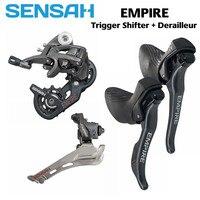 Sensah empire road bike 22s shifter desviadores groupset  2x11 velocidade traseira + frente desviadores + shifters para sram/r7000 5800|Desviador de bicicleta| |  -