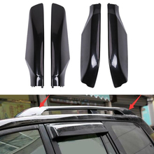 For Toyota Land Cruiser Prado Fj120 2003 - 2009 Car Roof Rack Bar Rail End Protection Cover Shell Car Styling Accessories ABS цена