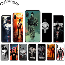 The Punisher soft phone case for Xiaomi MI 5X 6 6X 8 A1 A2 L