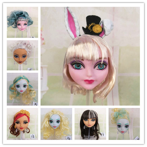 Free Shipping new Original High Quality ever Dolls Heads Doll Accessories Heads For Monster toys inc doll DIY Heads girls gifts original and free shipping neat 470 rev b1 486 high quality