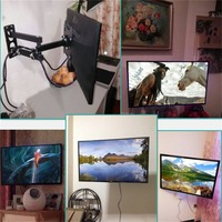 Televison TV Wall Mount Metal Bracket Durable Rotate Telescopic TV Wall Mount For 14 42 Inch TV Set