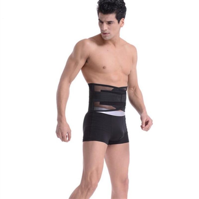 Cuidados com a Saúde Apoio da Cintura Suporte para trás Cinta Alta Elasticidade Respirável Malha Musculação Apoio Lombar Cintos Novo