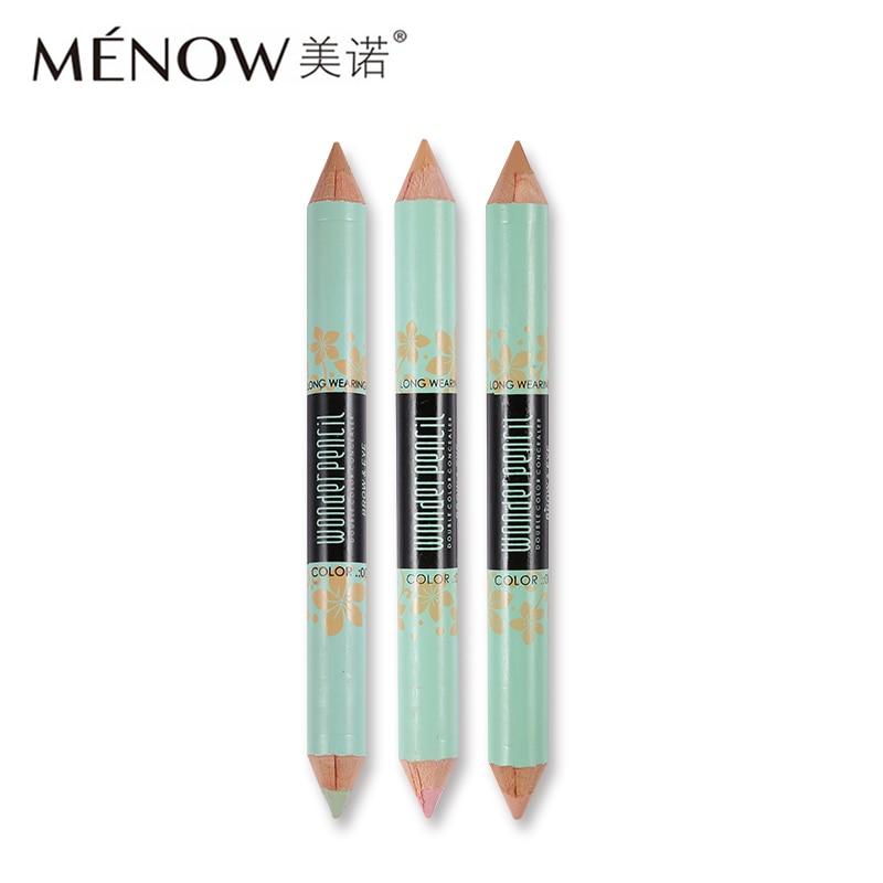 Menow Face Makeup Concealer Pencil Double-end Corretivo Concealer Stick Pen Camouflage Proofreader for Face Konsiller