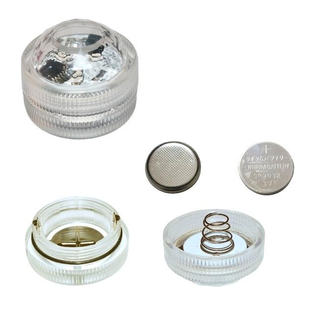led night verlichting 20 stks kleine batterijen waterdicht mini led verlichting voor ambachten
