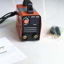 RU 250А 110-250 В компактный мини MMA сварочный аппарат инверторный дуговой сварочный аппарат