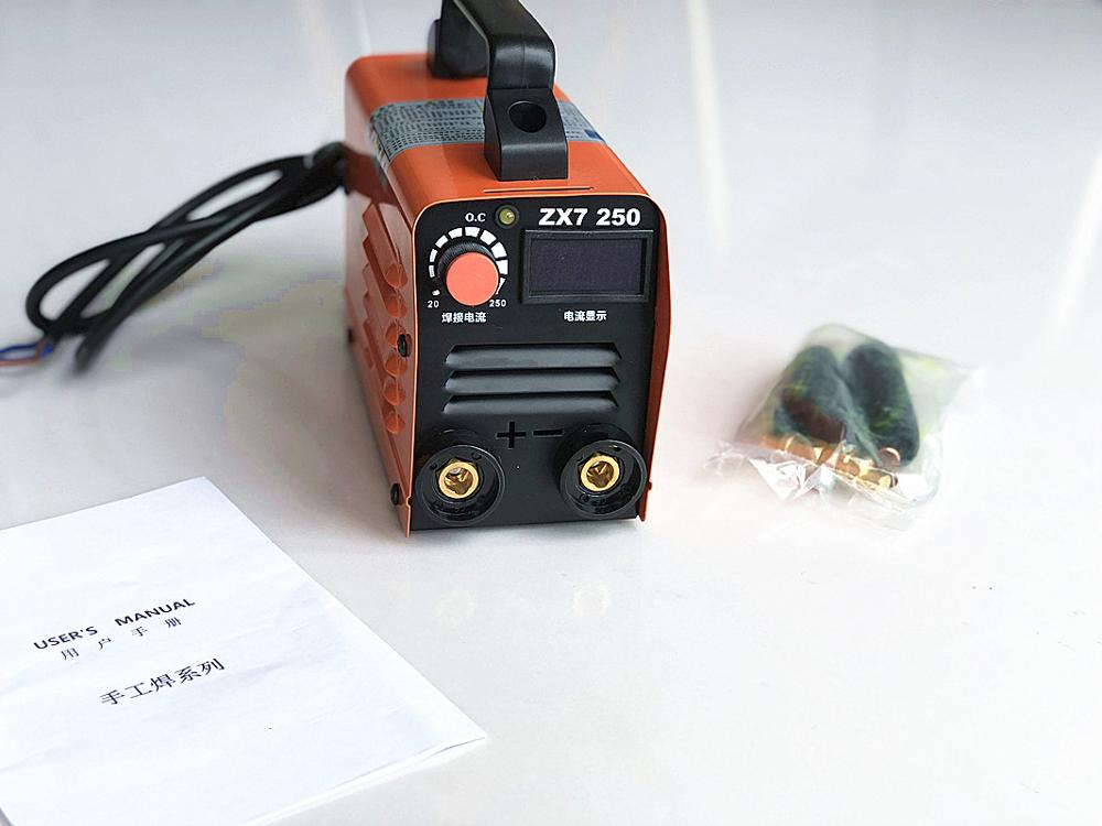 RU delivery 250A 110-250V Compact Mini MMA Welder <font><b>Inverter</b></font> ARC Welding Machine Stick Welder image