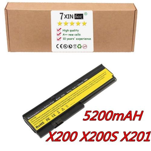 6 zellen 10,8 v batterie für ibm lenovo thinkpad x200 x201 x200s...