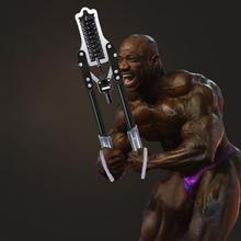 Adjustable Grip Strength Bar 60/75kg Men's Chest Muscle Chest Training Fitness Equipment Home 40 Kg Arm Bar