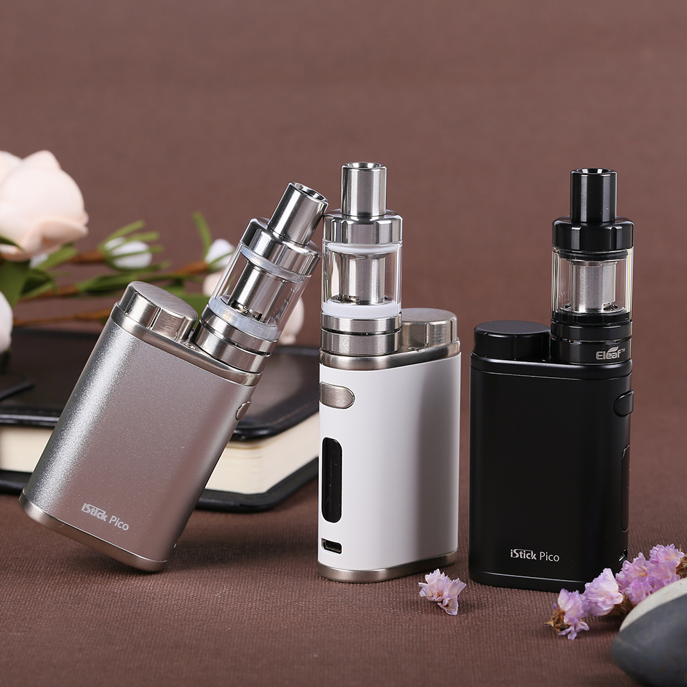 Original Eleaf IStick Pico Kit 75W Box Mod Vape Electronic Cigarette 2ML Melo III Mini Or 4ML Melo 3 Tank E-Cigarettes Vaporiz