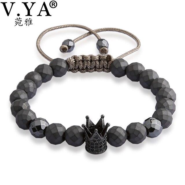 0b47080f5e25 V. Corona pulseras para hombres mujeres joyería de lujo de moda de los  hombres reloj