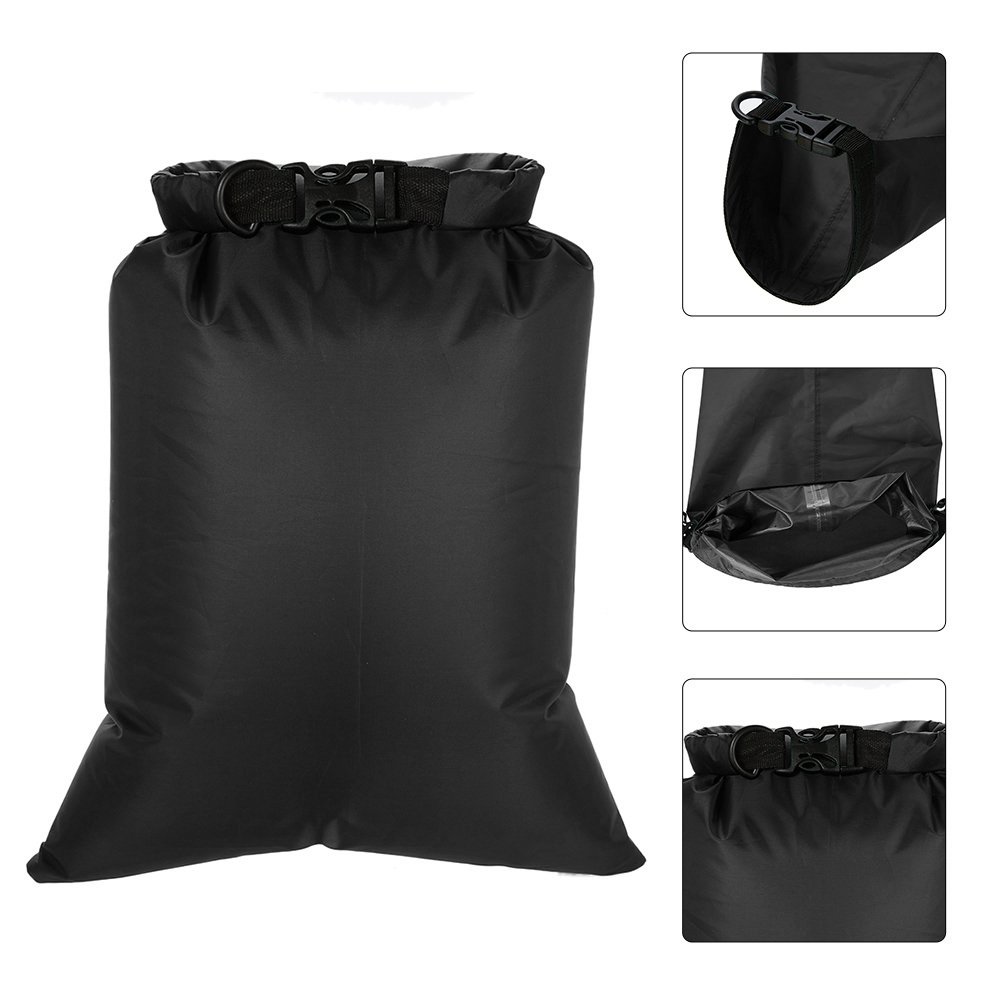 Image 5 - 3L+5L+8L Waterproof Dry 3 Bags Water Resistant Swimming Storage Bag Pack Sack Rafting Kayaking Camping Floating Sailing Canoeing-in Storage Bags from Home & Garden