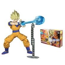 Dragon Ball Z Figure-Rise Standard Super Saiyan Son Goku Building Kit Japan Anime Collectible Mascot Toys 100% Original