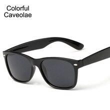 Colorful Caveolae Polarized Sunglasses Men Fashion Full Frame Male Sun Glasses UV400 Driving Man Dark Glasses High Quality