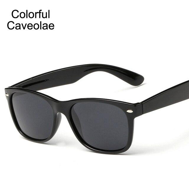 01976c5b3 Colorido Caveolae Polarizada Óculos De Sol Dos Homens de Moda Full Frame  Masculino Óculos de Sol