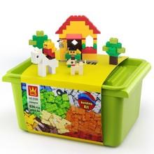 DIY Creative 626Pcs Building Blocks Bricks Set Model Figures Game Toys For Children Compatible Legoings City Friends  Brinquedos