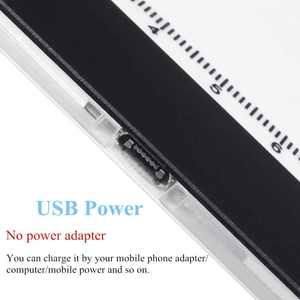 Image 4 - A4 ขนาดคณะกรรมการการวาดภาพ LED Lightbox กล่อง USB Power Cable Dimmable LED ความสว่าง Artcraft Tracing Light Pad