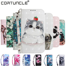 For Coque Xiaomi Redmi Note 7 Cases Flip Leather Case on Fundas 3D Magnet Wallet Stand Phone Cover
