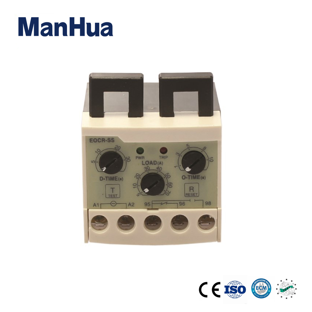 EOCR-SS electronic Overload Relay and Phase Loss protection Independently adjustable starting Relay EOCR-SS korea three and eocr motor protector eocr 3dm ac220