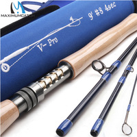 Maximumcatch V Pro 4/5/6/8wt 9ft Fly Fishing Rod 4pc IM10 Carbon Fiber Fast Action Fly Rod with Cordura Tube fishing rod fly fishing rod fly rods carbon fiber -