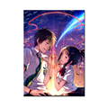 Your Name Movie Posters 2017 Anime Wall Pictures Printed on Canvas Prints for Bedroom Room Wall Hanging No Frame 24x36inch