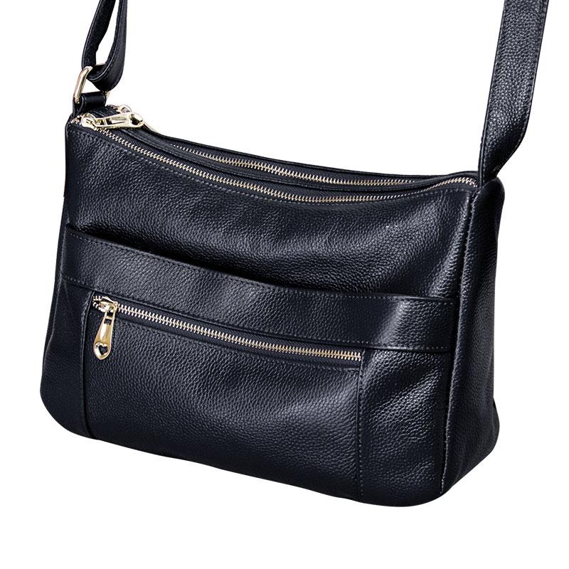 2018 Hot style Women bag Ladies Genuine leather Shoulder crossbody bags For Women fashion Messenger bag women's handbag Female