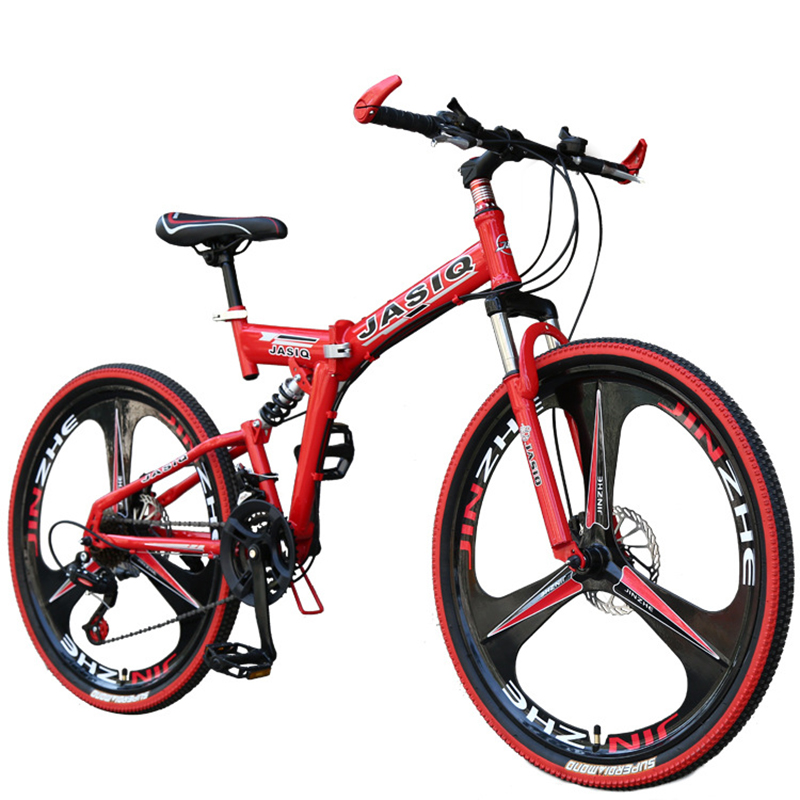 26 Inch Mountain Bike Shock Absorption Folding Adult Student 21 Speed 24 Speed Bicycle